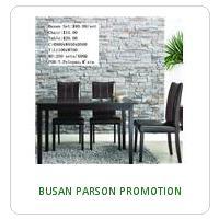 BUSAN PARSON PROMOTION